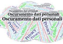 Oscuramento dati personali sentenze