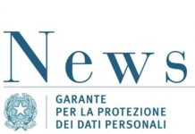 garante privacy data breach