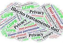 Illecito trattamento dati personali