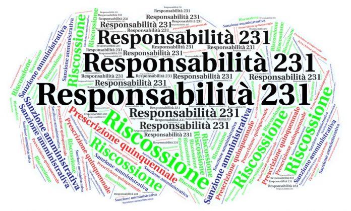 riscossione della sanzione amministrativa 231