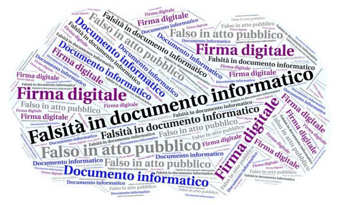 Falsità in documento informatico